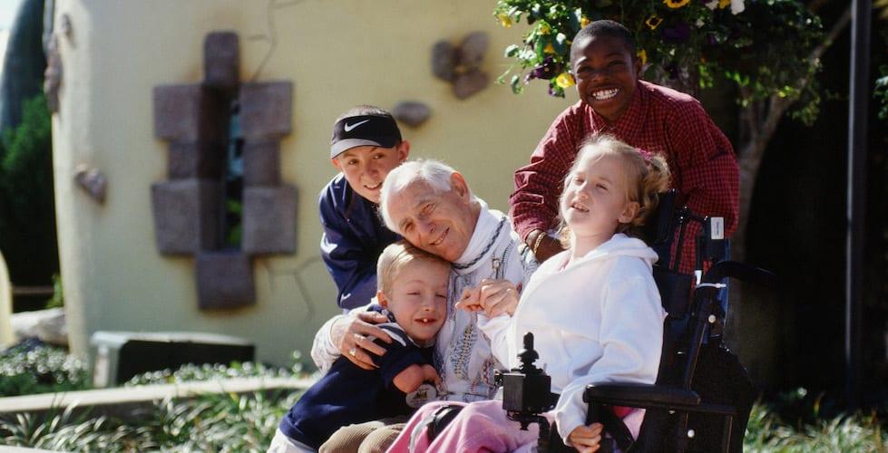 Henri Landwirth founder of Give Kids the World Village