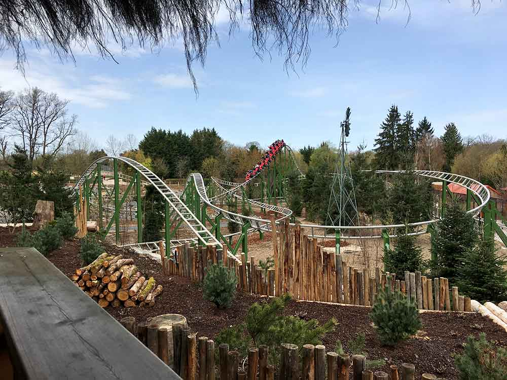 """Intamin supplies """"Yukon Quad"""" family launch coaster to Parc Le Pal, France"""