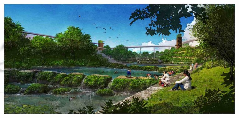 Jingshui River Park project zengzhou china forrec