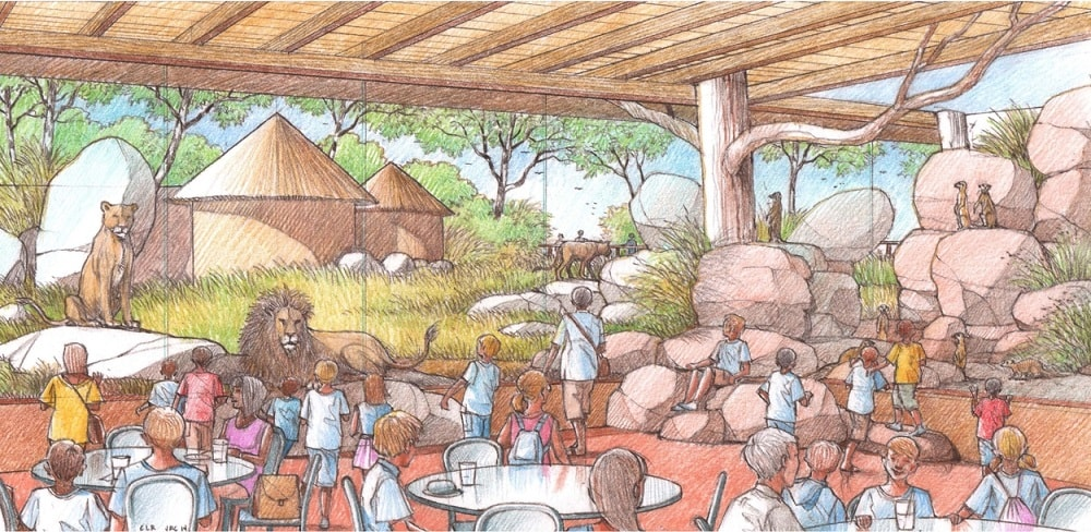 Great Plains Zoo Maasai Market Café