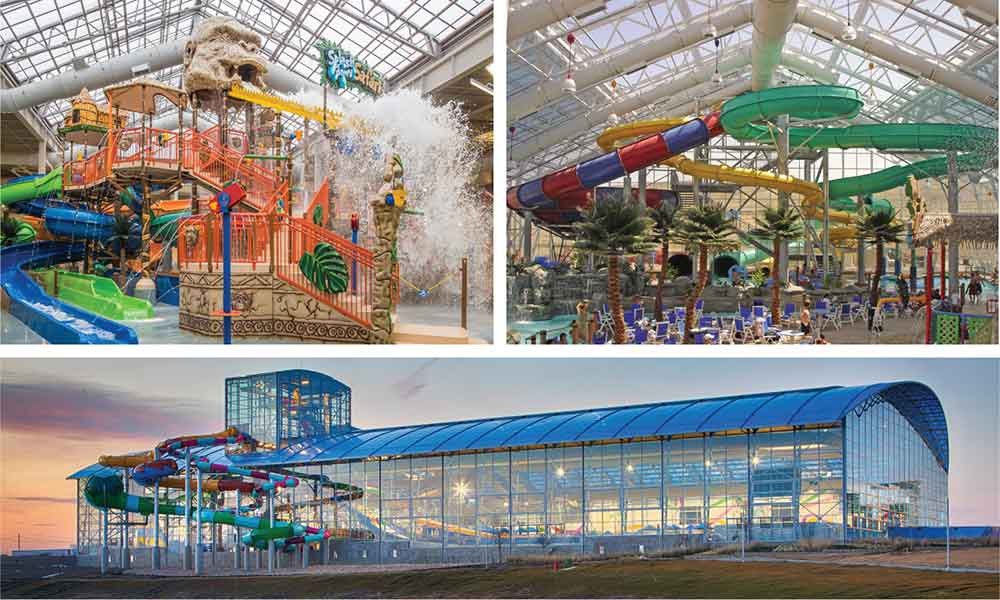 OpenAire award winning designer of retractable roof for waterparks