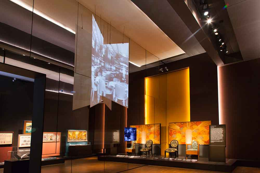 Sysco Productions provides AV solutions for V&A's Ocean Liners exhibition