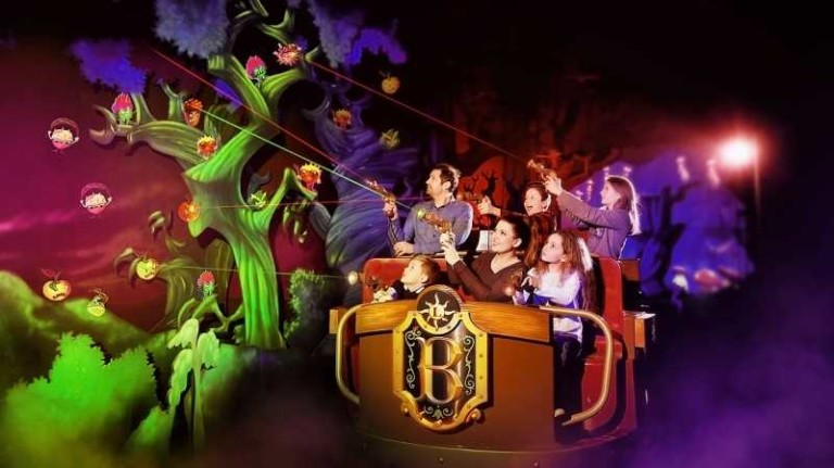 bazyliszek basilisk interactive dark ride legendia poland