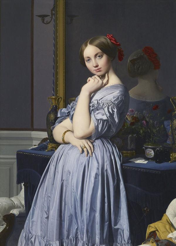 Comtesse d'Haussonville Jean-Auguste-Dominique Ingres 1845