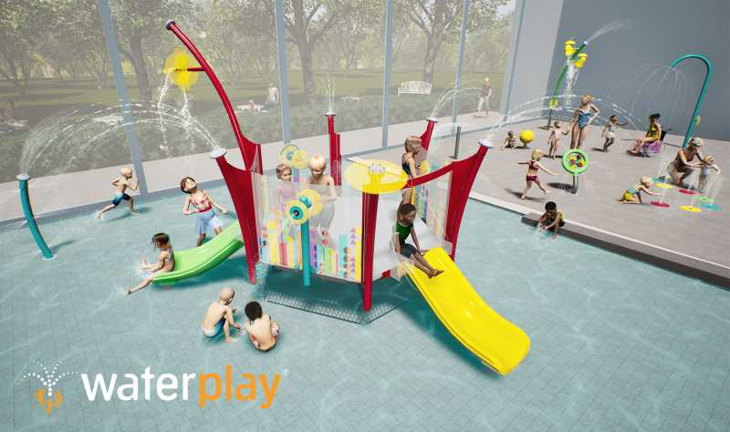kaleidoscope collection activity towers by waterplay solutions