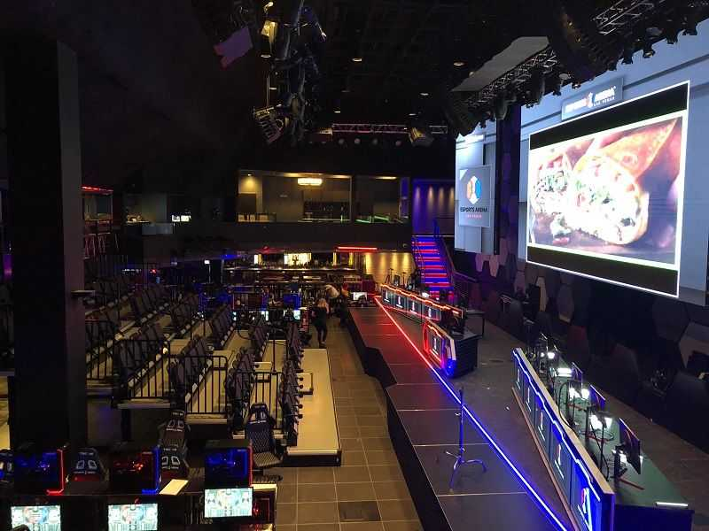 mgm arena presentation projection screen human-centered design