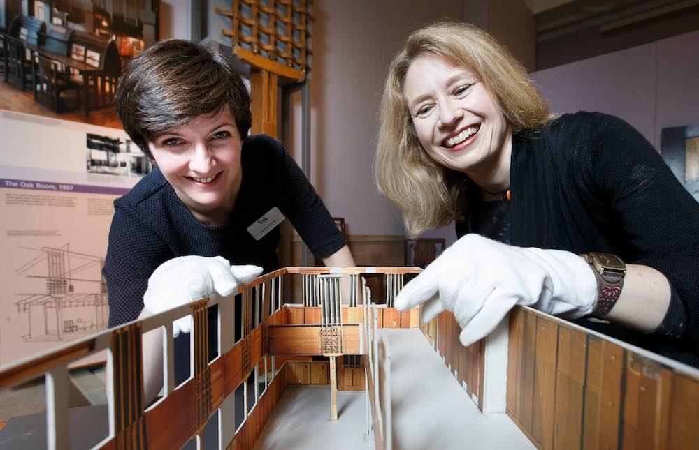 Mackintosh Tearoom Restoration_V&A dundee VandA dundee