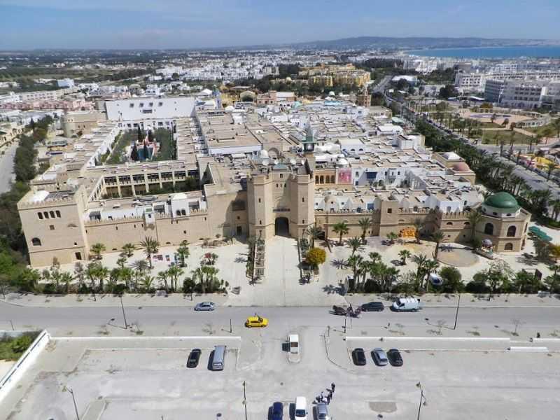 medina aerial photo carthageland sunny complex