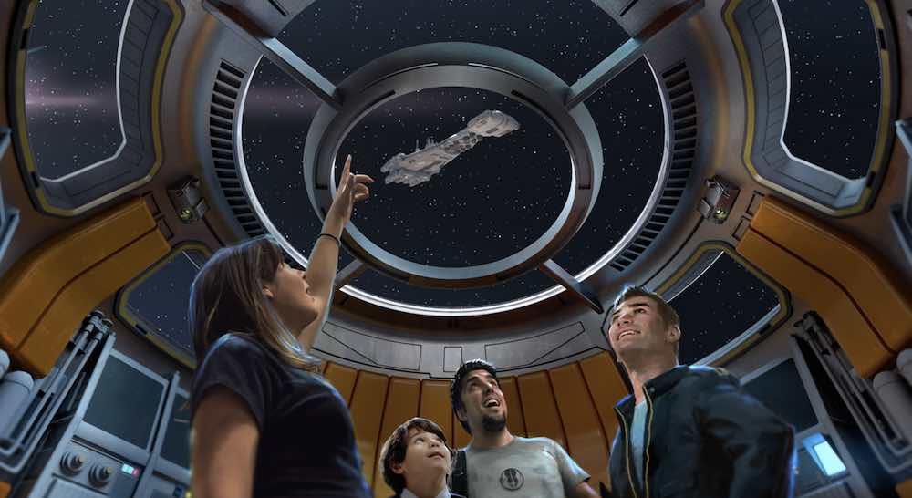 star wars hotel spaceship