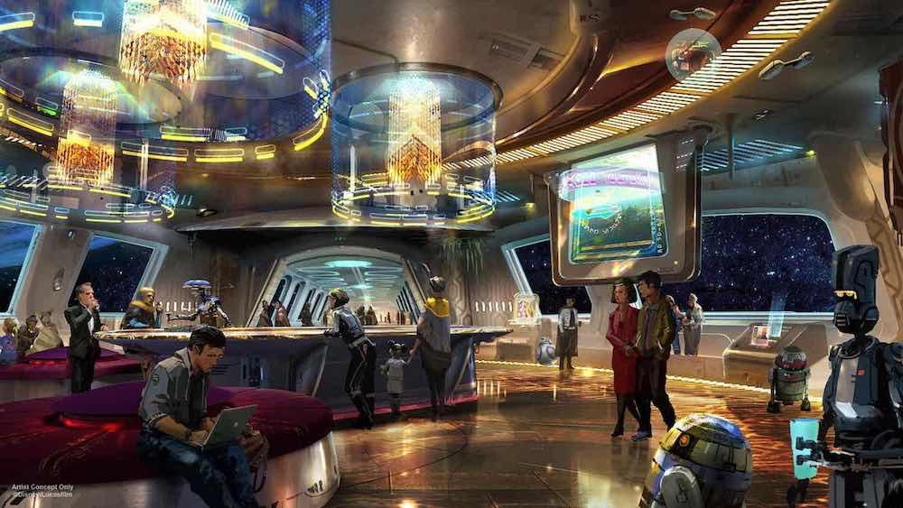 star wars hotel lobby