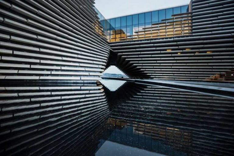 V&A Dundee exterior by Ross Fraser McLean )
