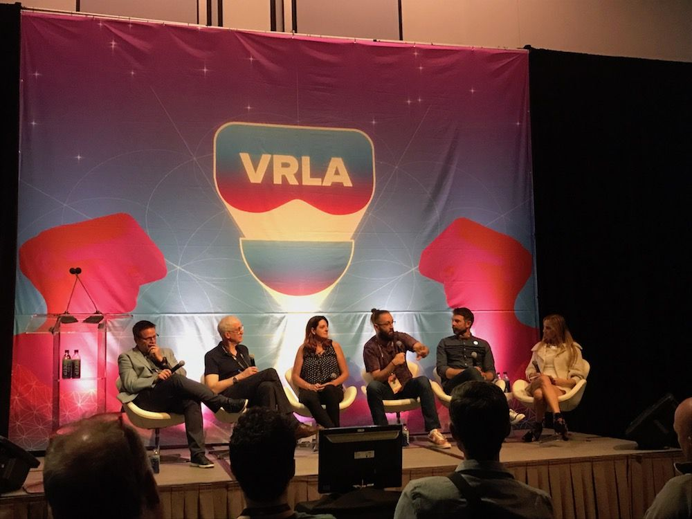VRLA Panel session speakers