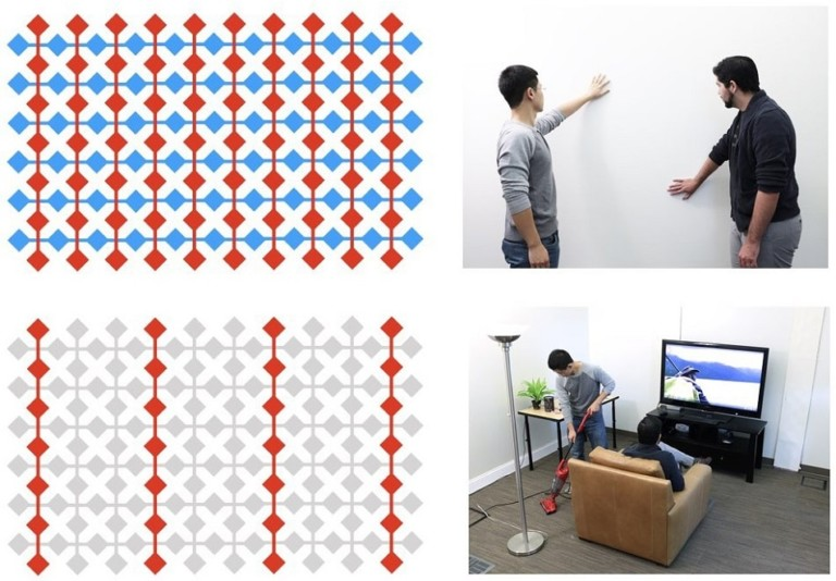 Wall++ smart wall conductive paint Disney Research