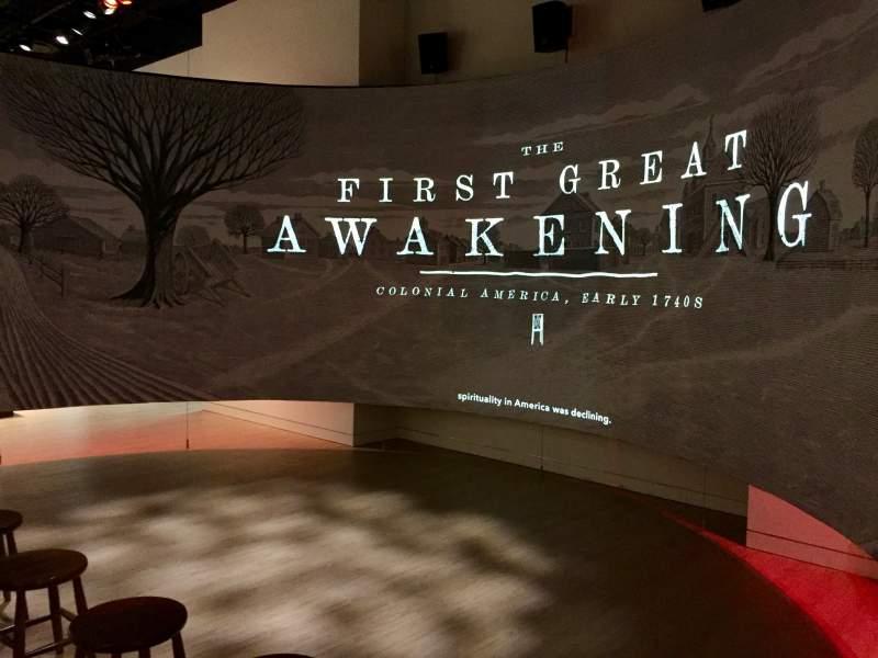museum of the bible washington great awakening theater