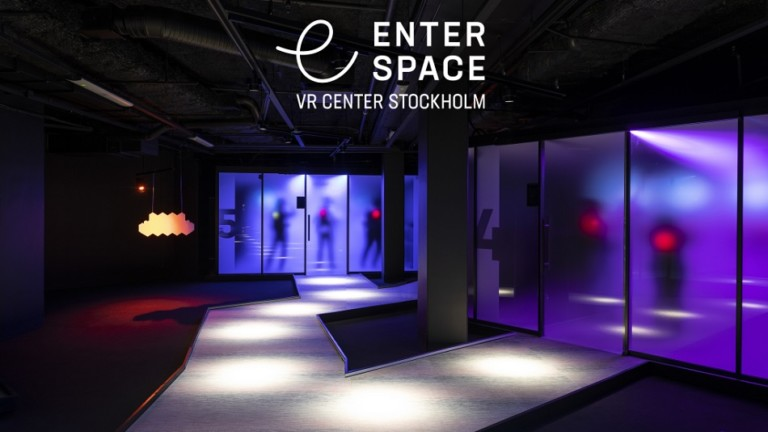 Enterspace VR Center Stockholm. Virtual reality. Starbreeze