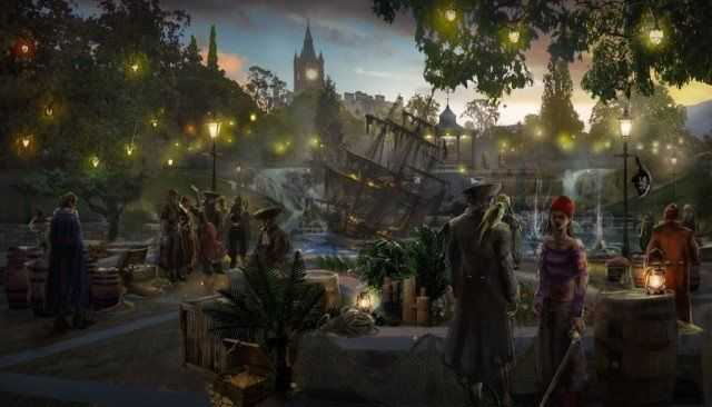 evermore park pirate party artwork
