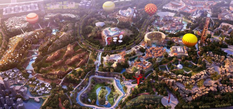 global 100 theme park hainan china