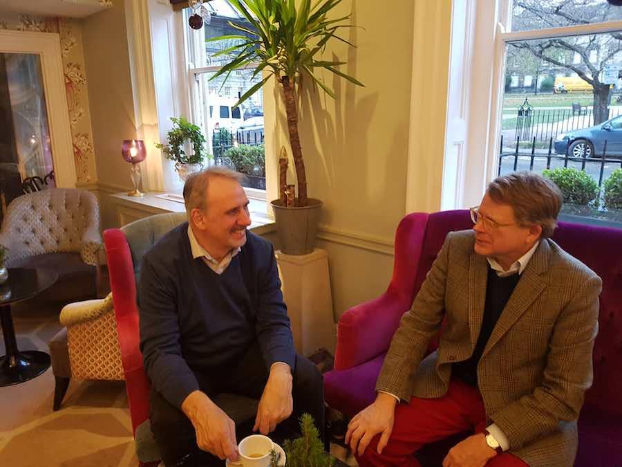keith thomas and jonathan rounce petersham group