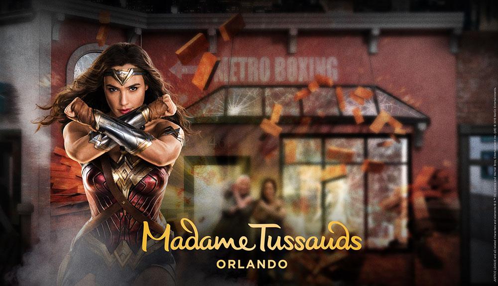 Madme Tussauds Orlando Justice League Wonder Woman
