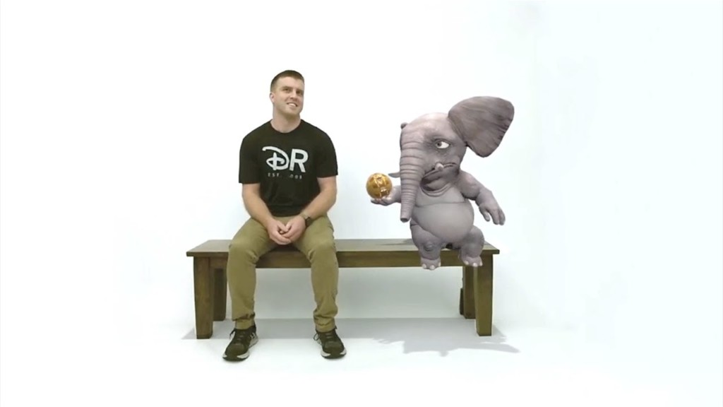 magic bench from disney research disney patent