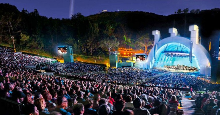 hollywood bowl - moustrappe - beauty and the beast