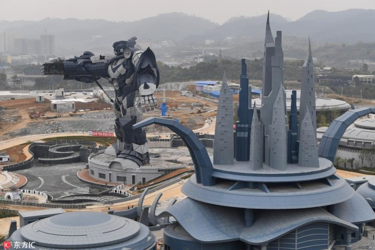 Oriental Science Fiction Valley Science fiction virtual reality theme park opens in China