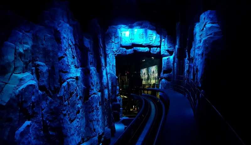 wanda qingdao tunnel