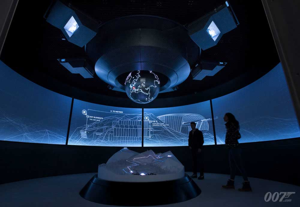 007 Elements James Bond visitor experience