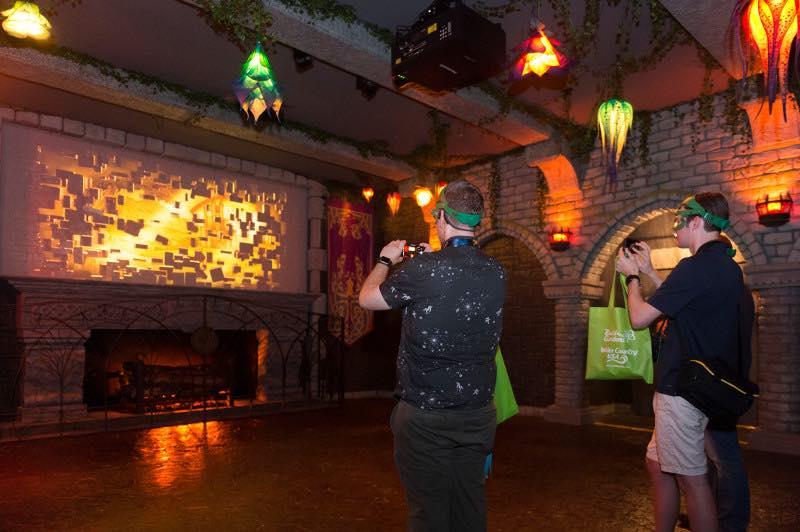 Busch Gardens Williamsburg Battle for Eire VR pre show