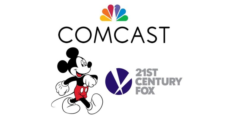 Camcast and Disney bid for Fox