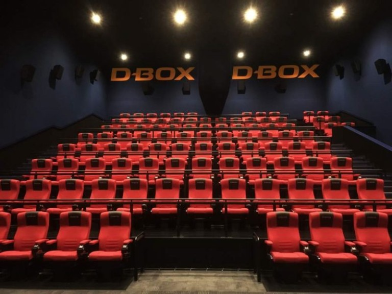 D-BOX motion seats - Cinemark adds more as demand soars in Latin America