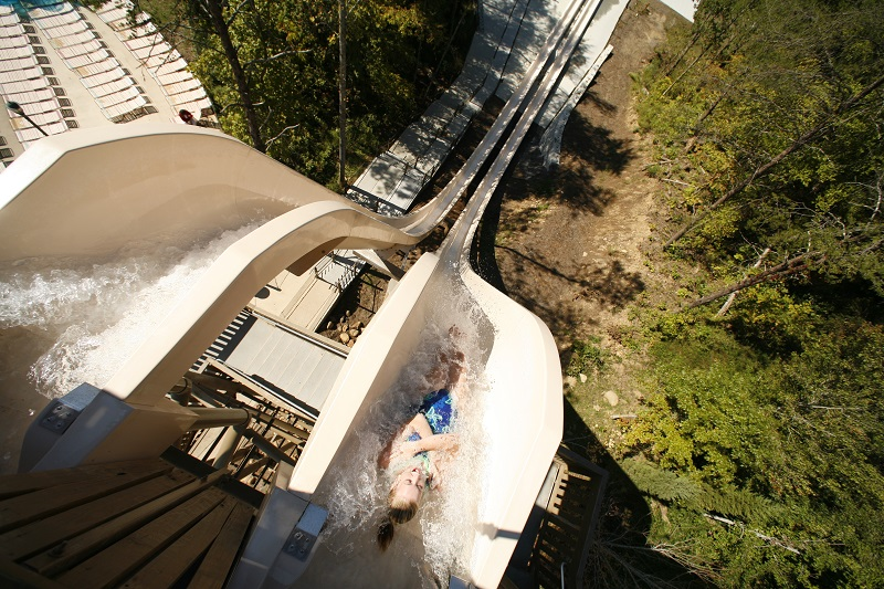 dollywood splash country fire tower view from top