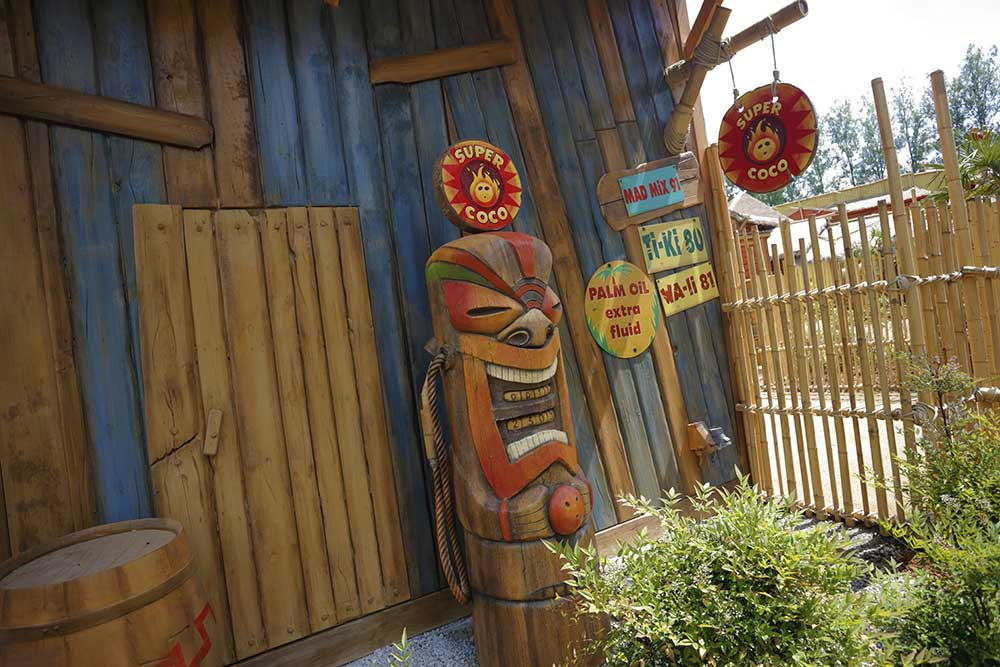 Jora Vision Exotic World Walibi Belgium theming