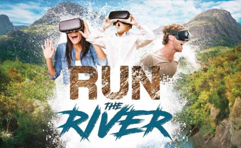 run the river dynamic VR waterproof attraction by cl corp