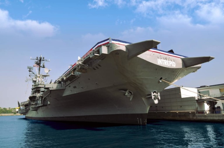 USS Intrepid - Sea, Air & Space Museum - partners 365Tickets USA