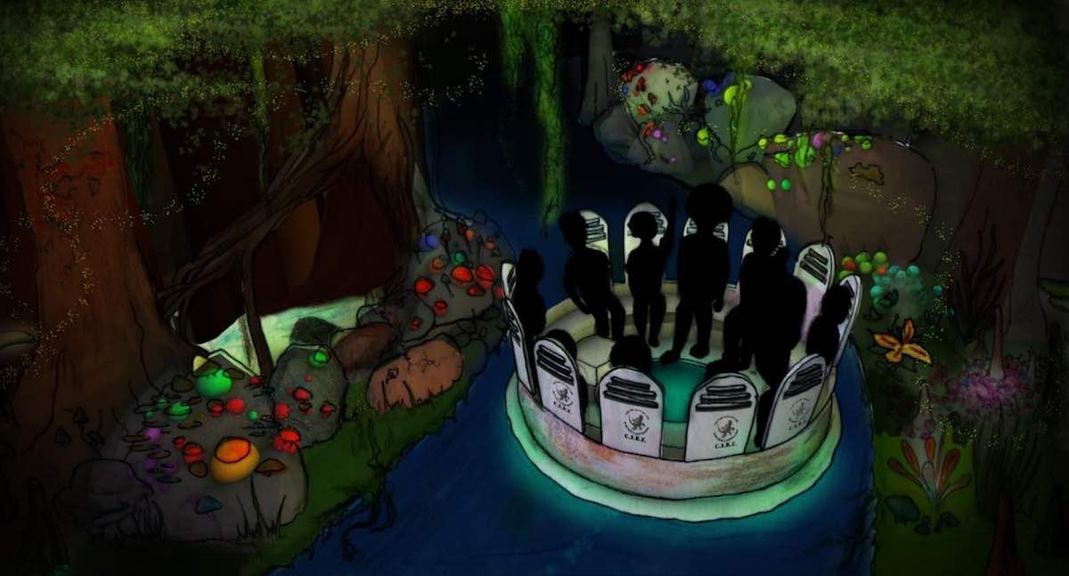 cryptid creek 2018 theme park design competition winner