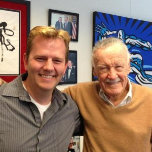 josh shipley with Stan Lee of Marvel