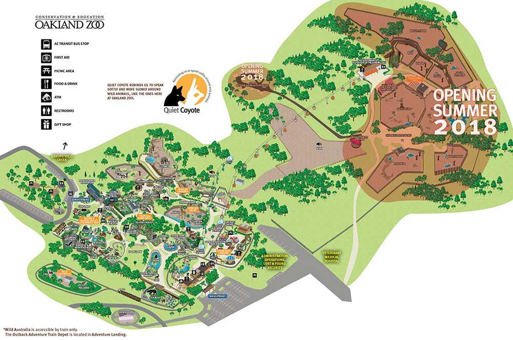 Oakland Zoo California Trail