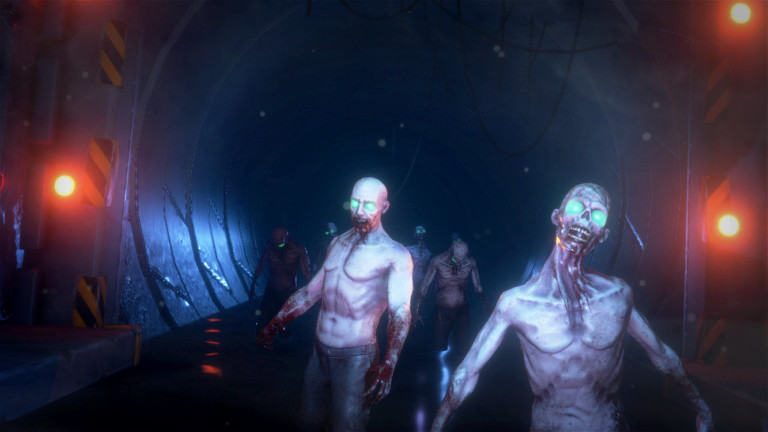 zombies in sewer from vr shooter game outbreak origins by zero latency