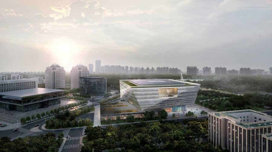 Shanghai Library East Branch Pudong