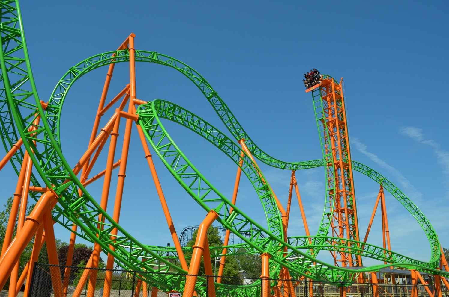 tantrum darien lake park US roller coasters