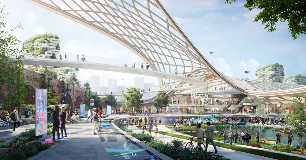 Westfield Destination 2028 future of retail and retailtainment