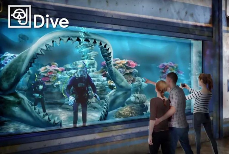 Bear Grylls Adventure dive with sharks Merlin Entertainments