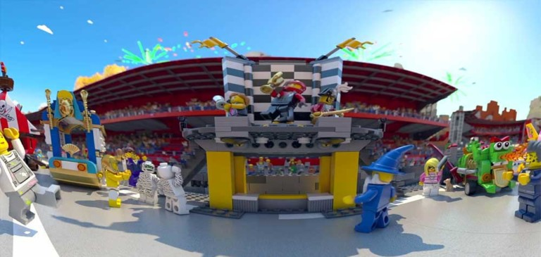 The Great LEGO Race VR experience LEGLOAND Discovery Centre