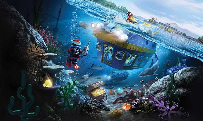 Legoland California open Lego Deep Sea Adventure