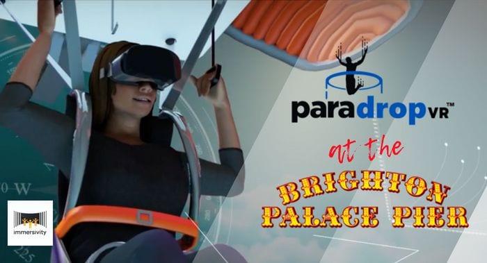 paradrop vr paragliding experience