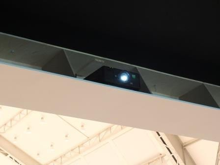 digital projection laser projector at PROOF exhibition