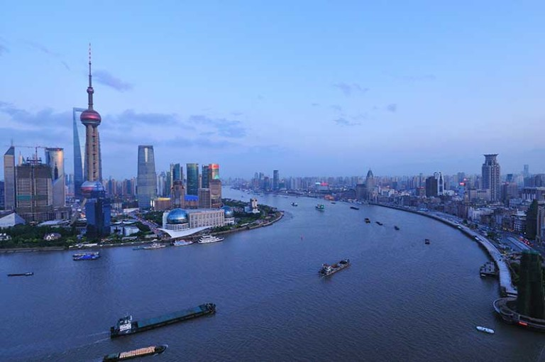 Huangpu River, site of planned agricultural park