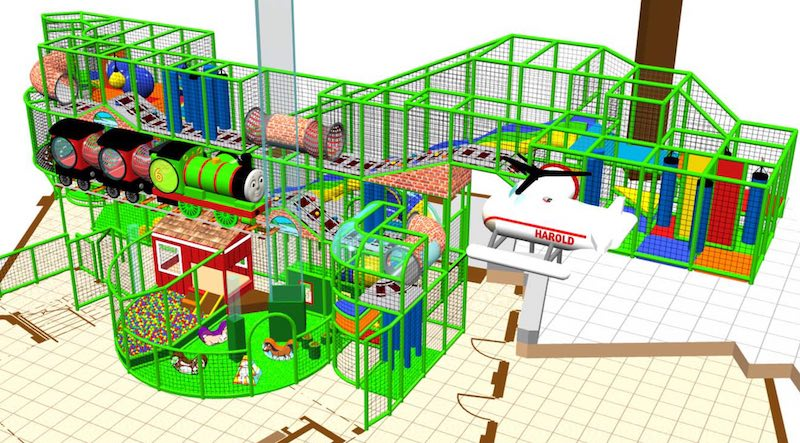 Thomas and Friends Rendering Mattel Play Town iPlayCo