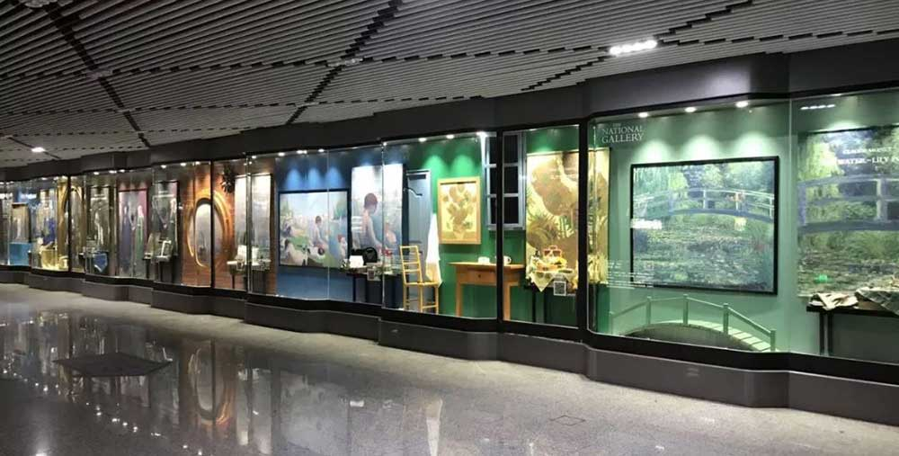 Artworks from the National Gallery at Shanghai Metro